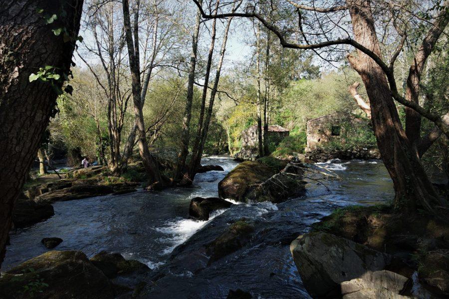 Paisaje del Refugio de Verdes, Galicia