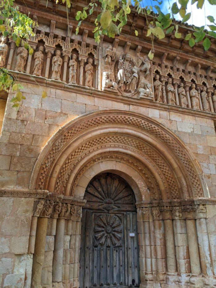 Portada románica, iglesia de Moarves de Ojeda