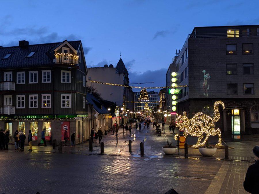 Centro de Reykjavík, Fin de año en Reykjavík