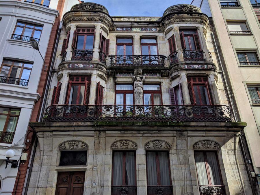 Edificio Art Noveau en Gijón