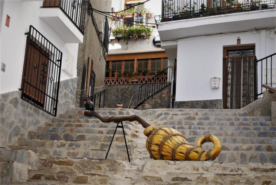 Escoba voladora, calle Real de Soportújar