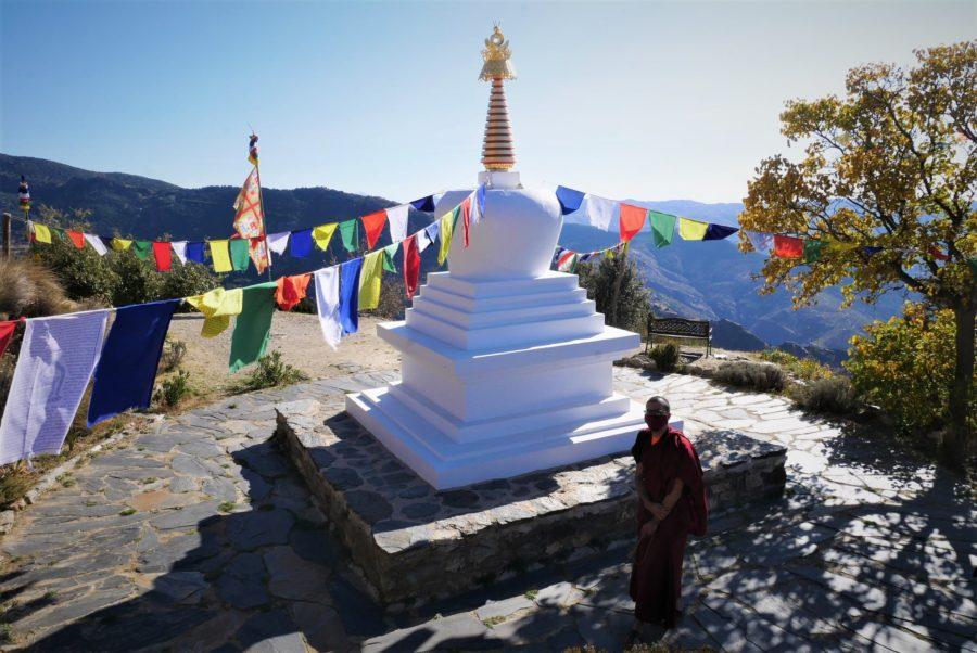 Lama budista en O Sel Ling