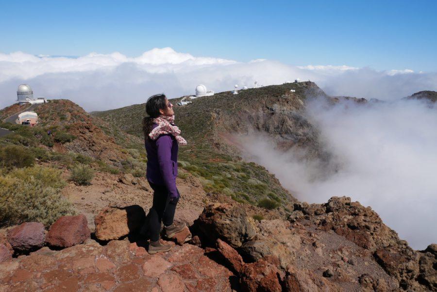 Mar de nubes en la Caldera de Taburiente, razones para viajar a La Palma
