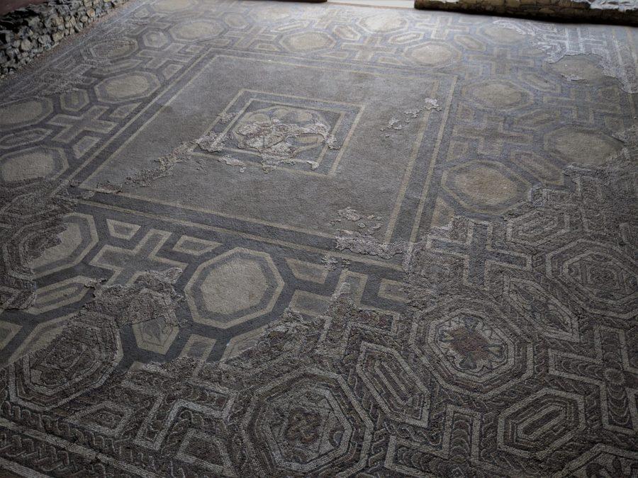 Mosaicos romanos en Gijon