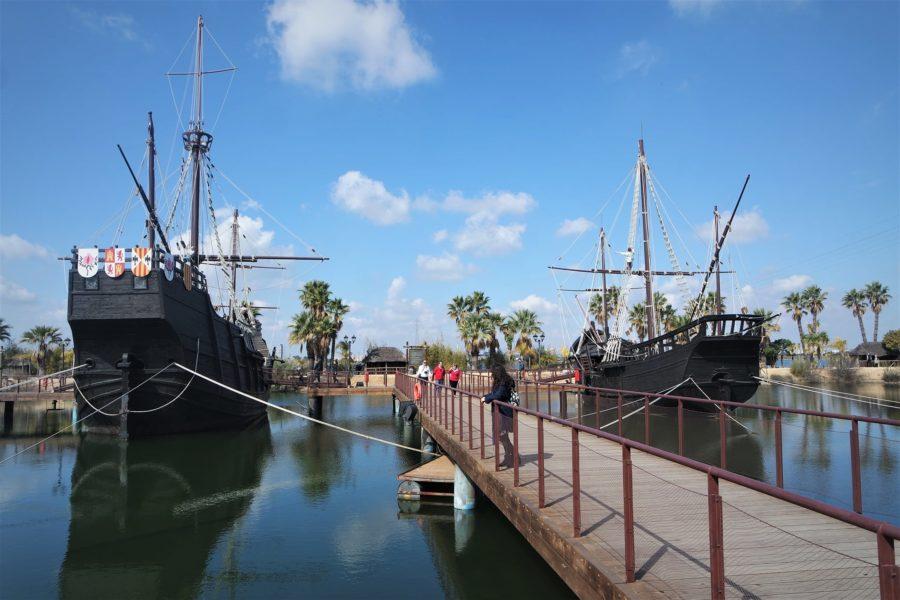 Muelle de las Carabelas, Palos