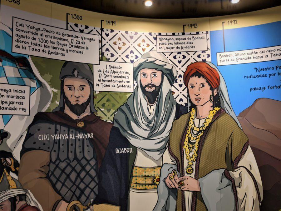 Murales en la oficina de turismo de Laujar de Andarax