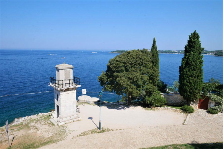 Rovinj, un mirador al mar Adriático