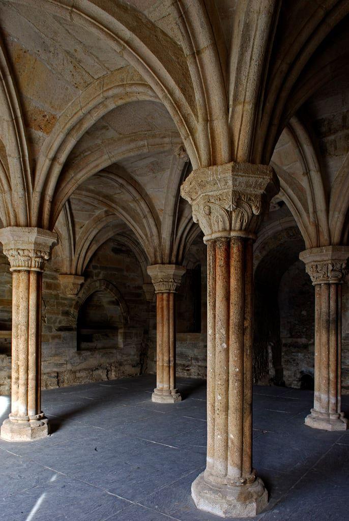 Sala Capitular del monasterio de Carracedo