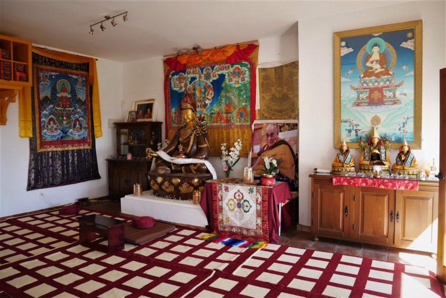 Sala de meditación, O Sel Ling
