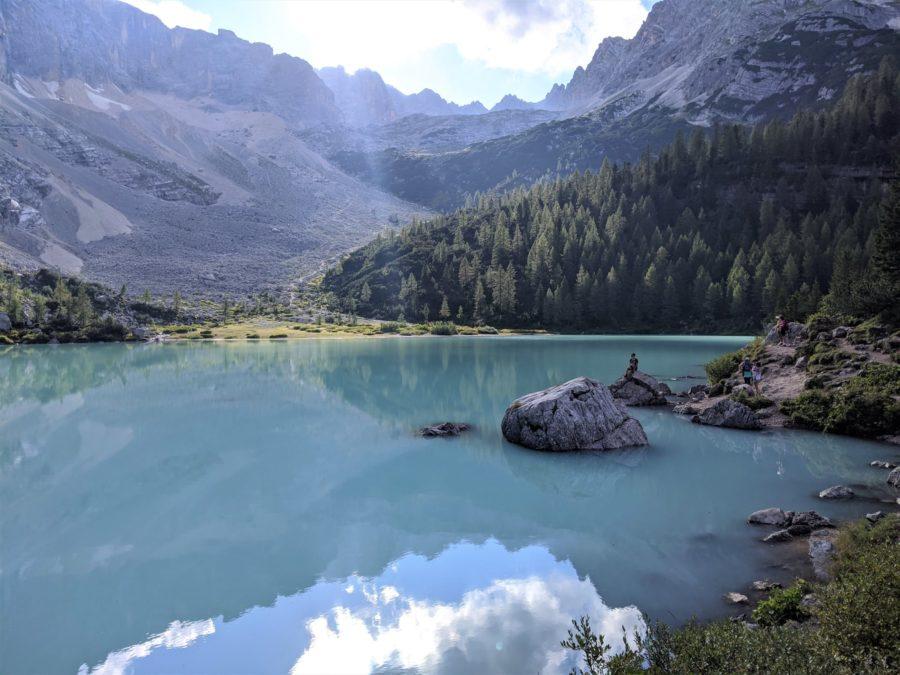 Trekking al lago di Sorapis, Dolomitas