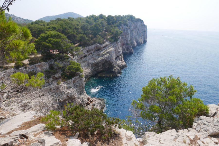 Acantilados de las islas Kornati, qué ver en Zadar Croacia