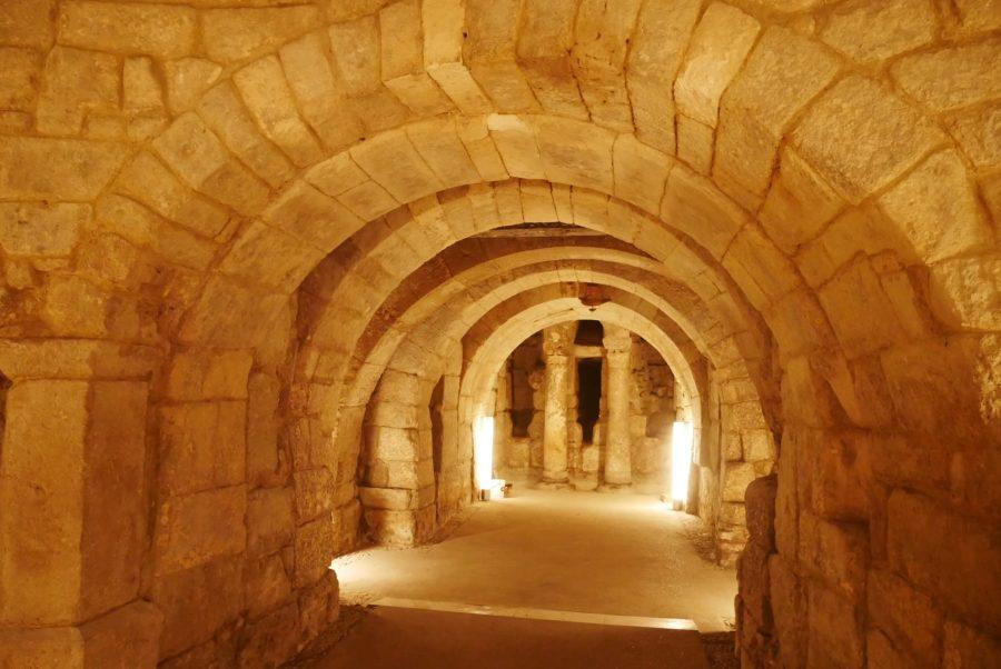 Cripta visigótica de San Antolín, catedral de Palencia