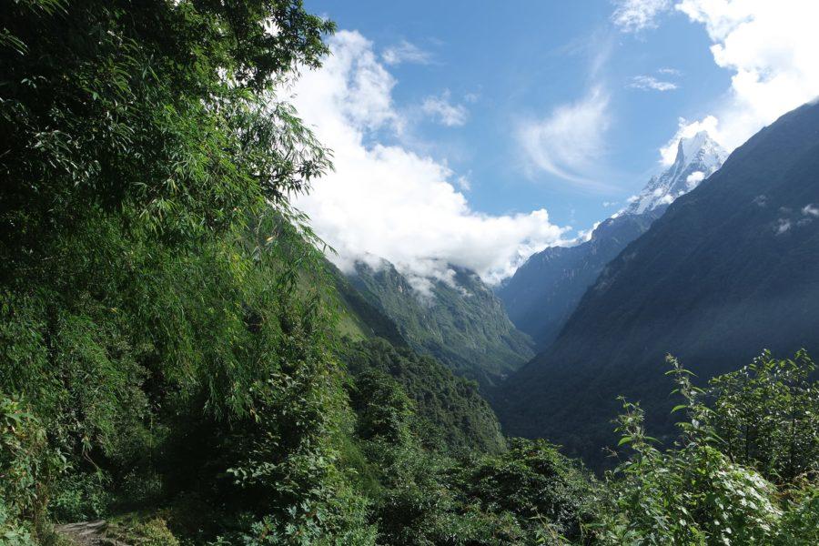 Cumbres del Himalaya, seguro para viajar a Nepal