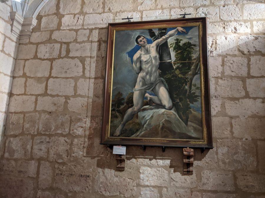 El Martirio de San Sebastián, El Greco, museo catedralicio