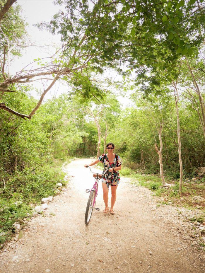 En bici por Yucatán