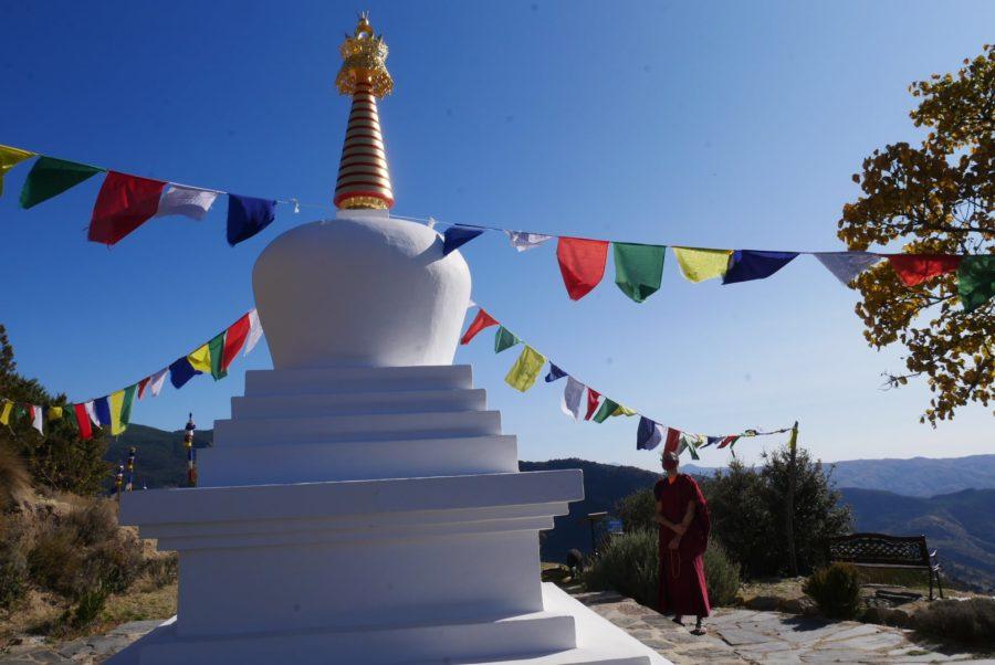 Estupa budista de O Sel Ling, la Alpujarra