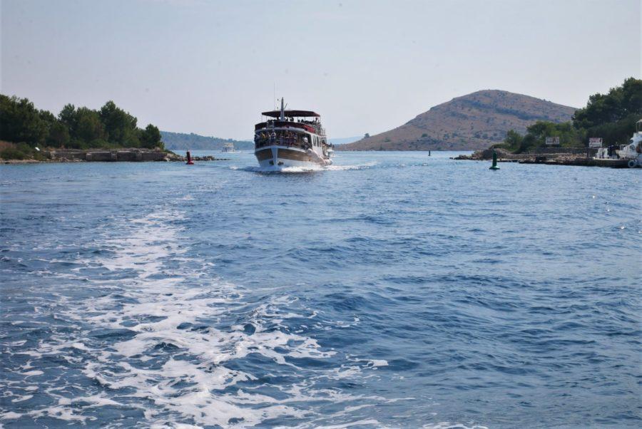 Islas Kornati, excursión en barco