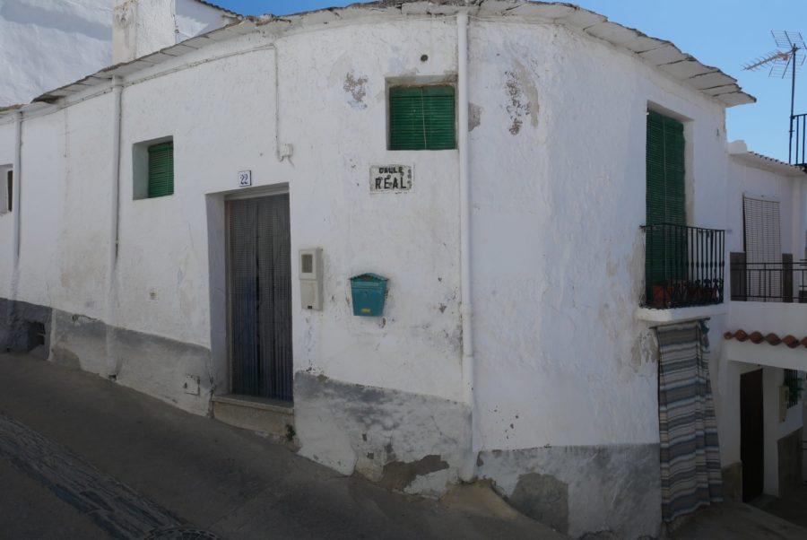 La calle Real de Yegen, Granada