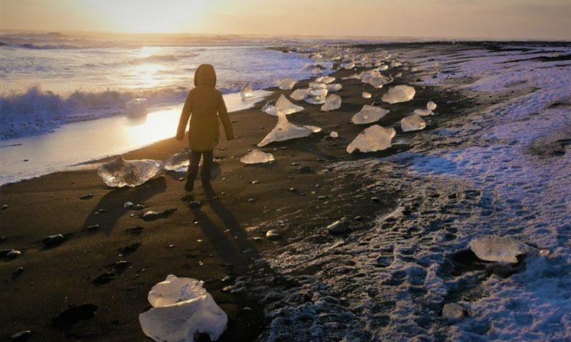 Playa de los Diamantes en Islandia, adiós 2020 el año de la Pandemia