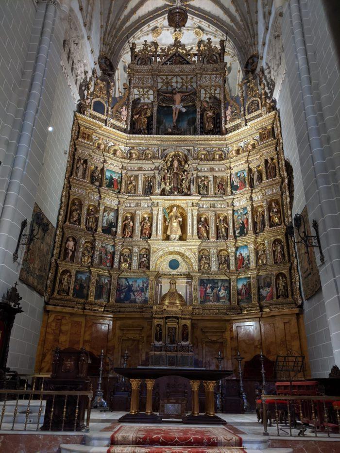 Retablo mayor de la catedral de Palencia