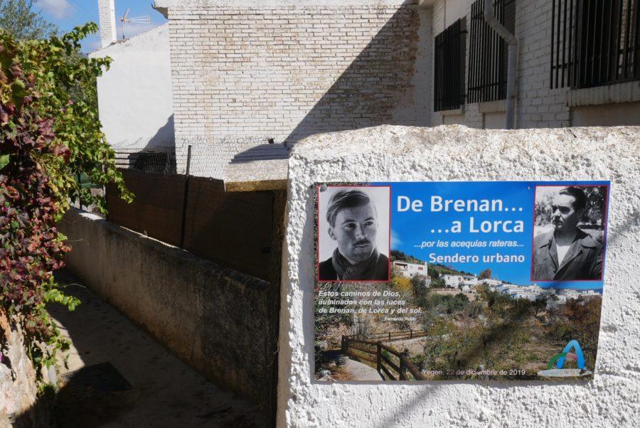 Sendero Brenan en Yegen