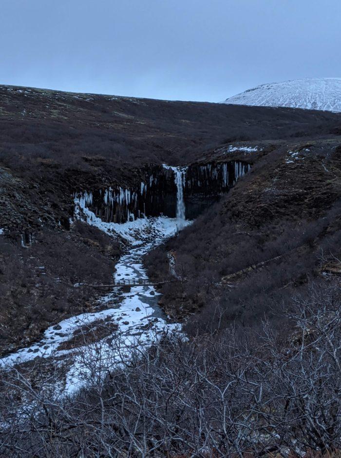 Svartifoss, la cascada Negra, las cascadas más bonitas de Islandia