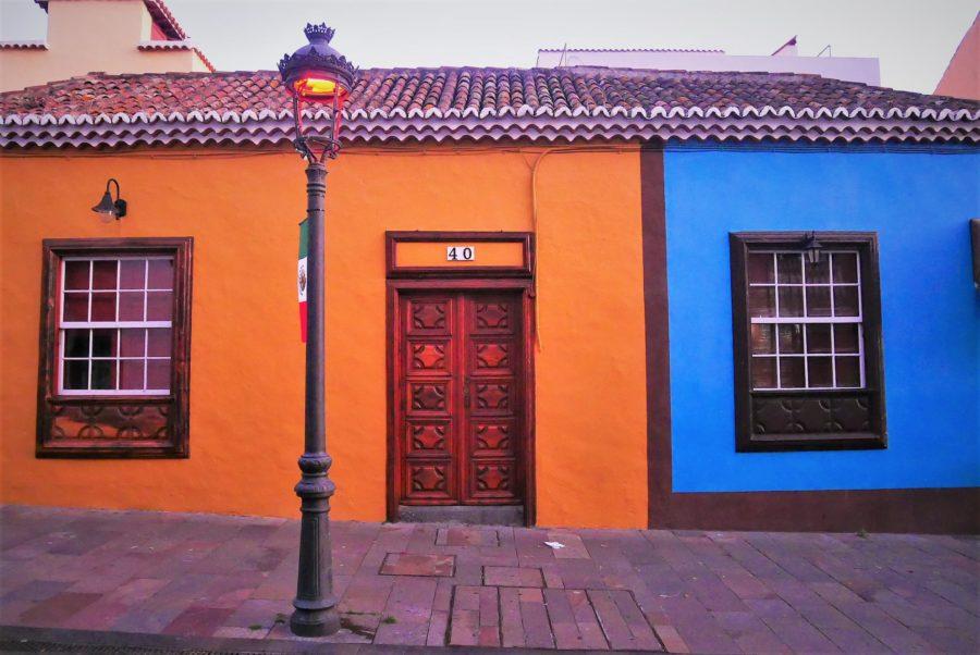 Casas típicas en Los Llanos de Aridane