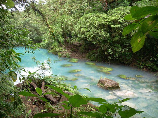 El río Celeste