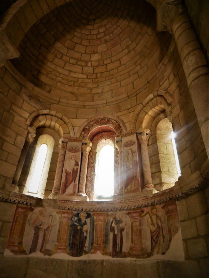 Frescos de la iglesia, Monasterio de Santa Cristina