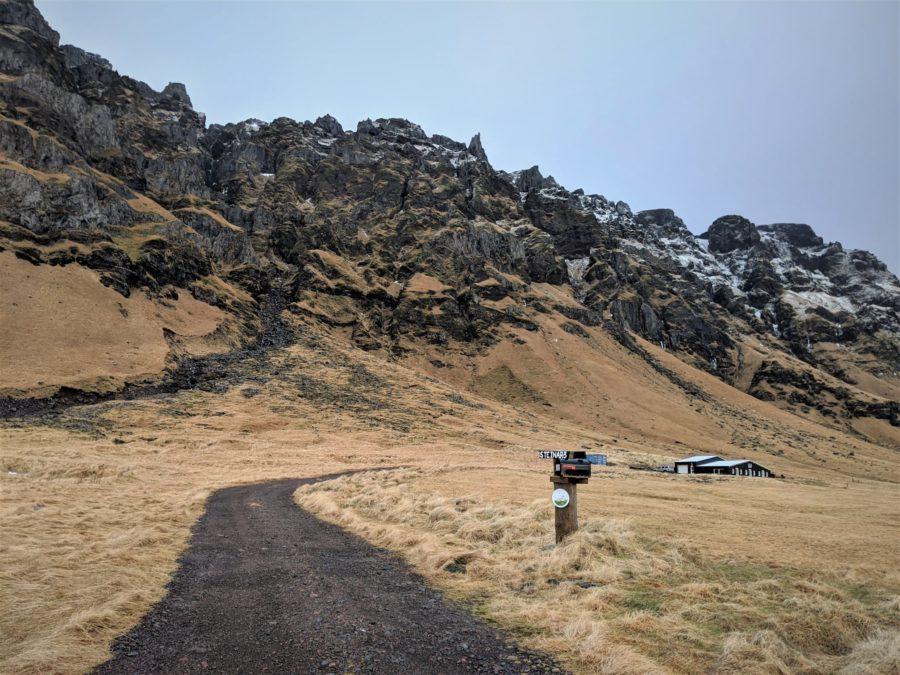 Granjas en el sur de Islandia