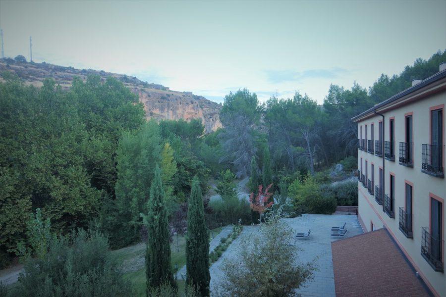 Hotel Real Balneario Carlos III, alojamiento en Trillo