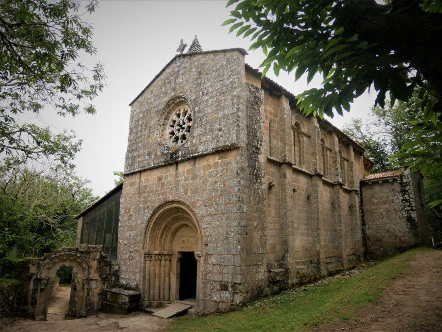 Iglesia del Monasterio de Santa Cristina en la Ribeira Sacra