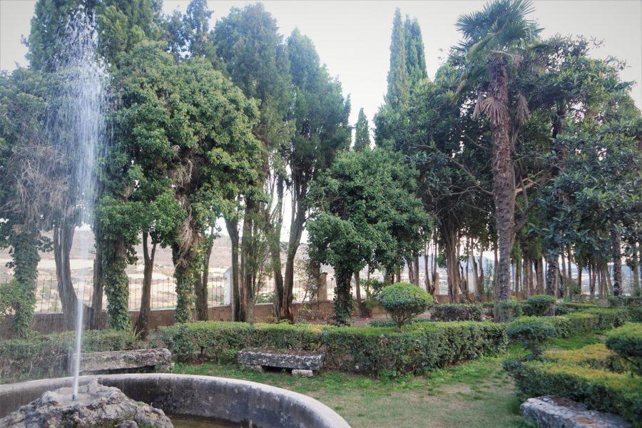 Jardín de la Fábrica de Brihuega