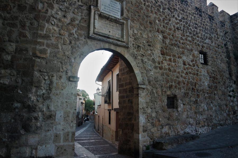 Puerta de la Cadena, entrada al casco histórico de Brihuega