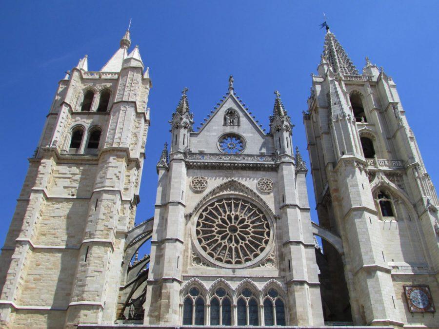 Rosetón de la catedral de León
