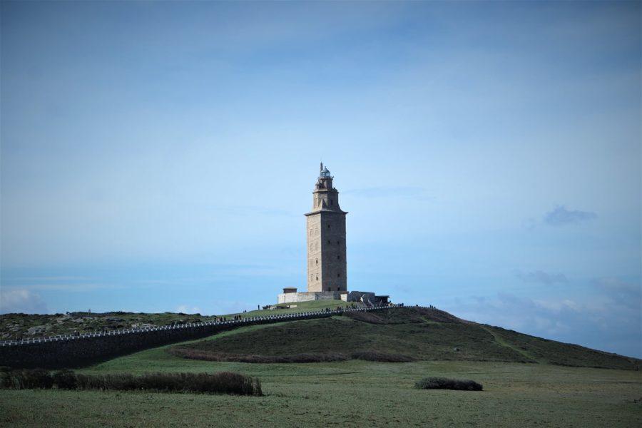 Torre de Hércules, A Coruña, localizaciones de El desorden que dejas en Galicia