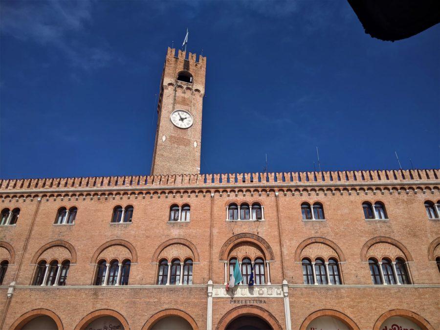 Torre del Reloj, qué ver en Treviso, Italia
