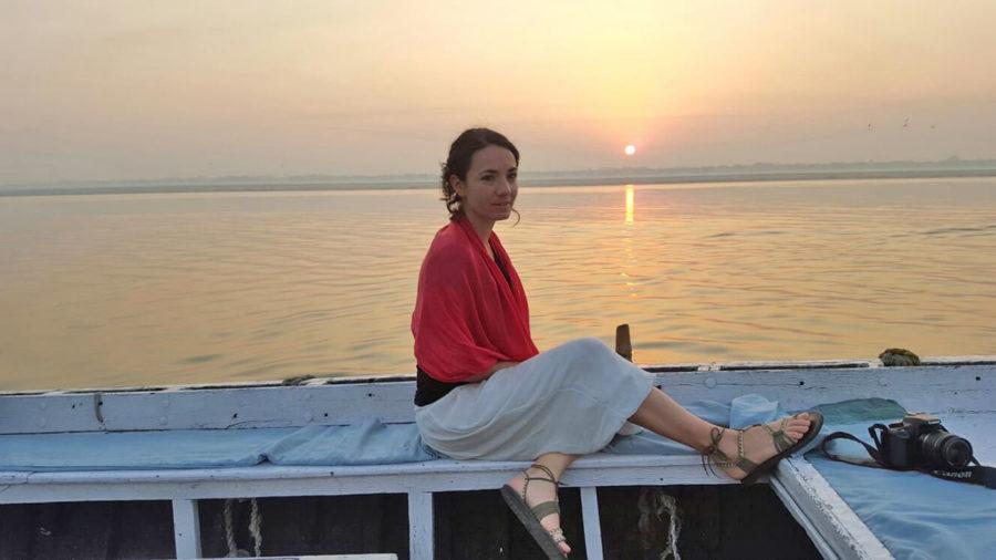 Vero en India, mujeres que viajan solas