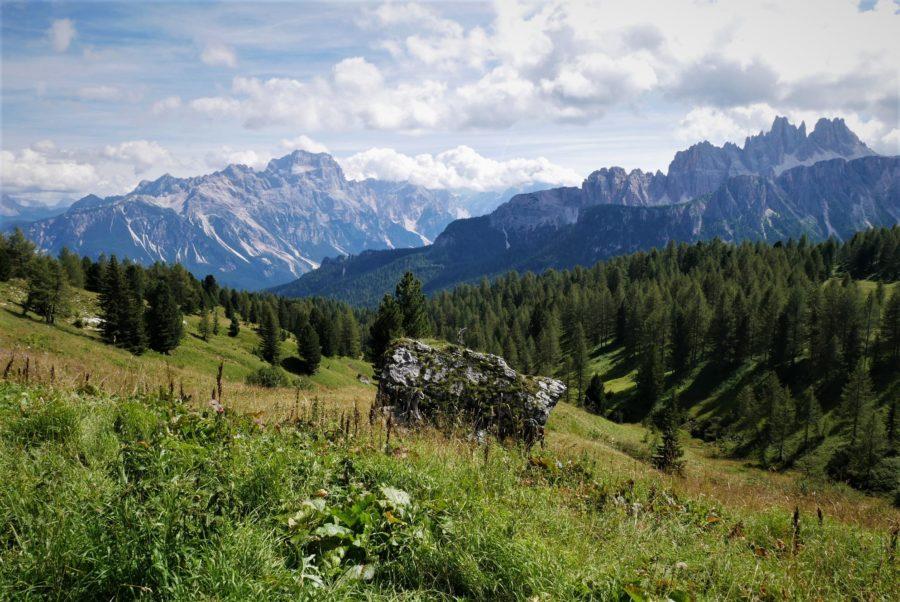 Vistas a Los Dolomitas