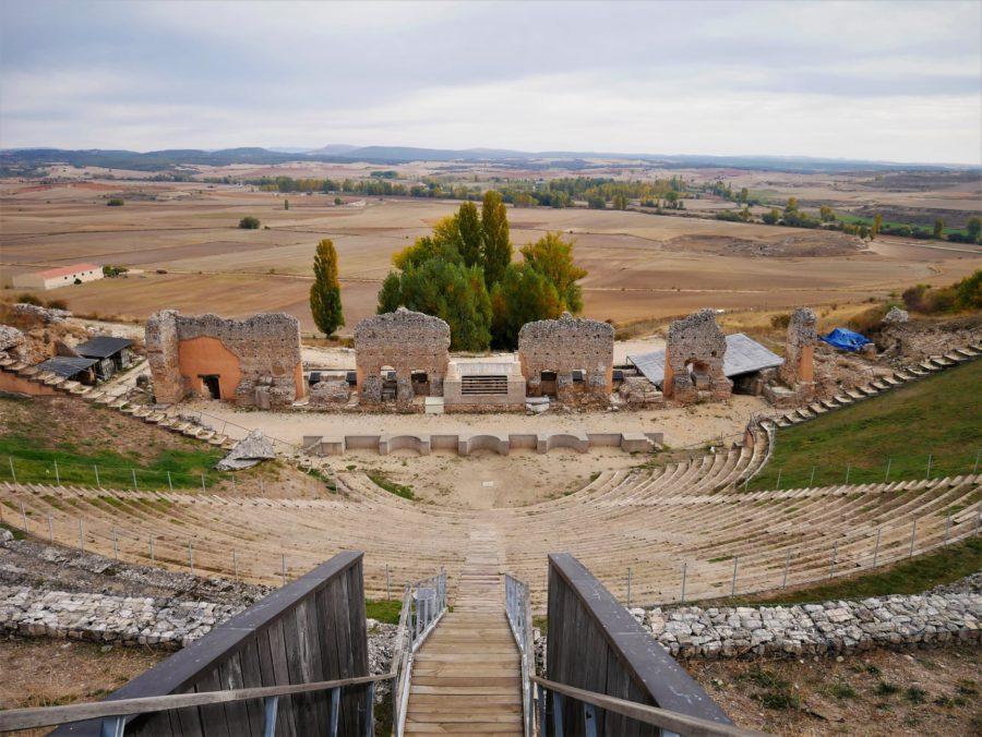 Anfiteatro de Clunia, qué ver en Burgos provincia