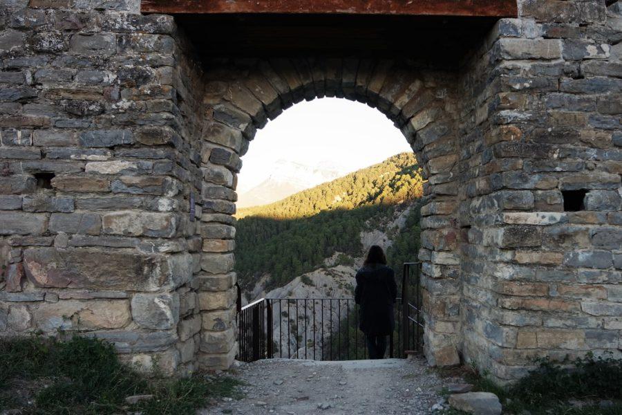 Castillo de Boltaña, pueblos de Aragón