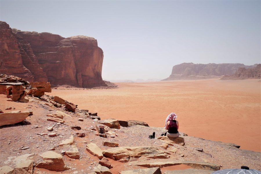 Desierto de Wadi Rum, es seguro viajar a Jordania
