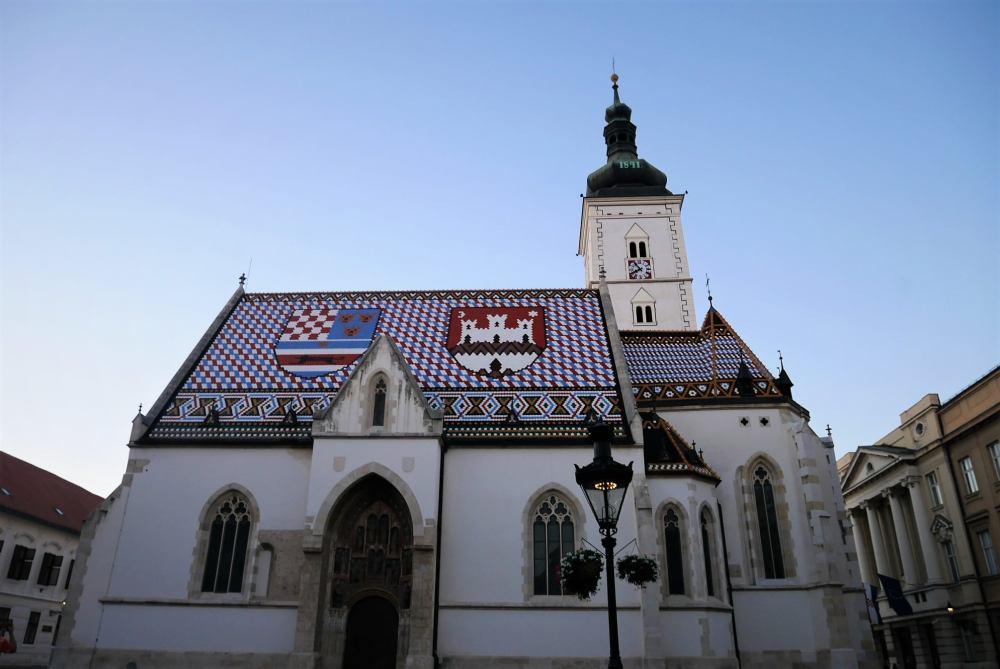 Iglesia de San Marcos, qué ver en Zagreb, Croacia