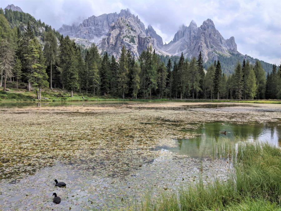 Lago d´Antorno, Los Dolomitas