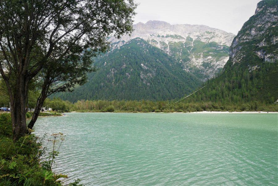 Lago di Landro, Los Dolomitas