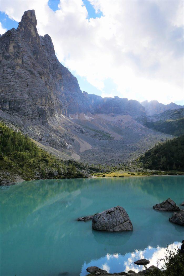 Lago di Sorapiss, Los Dolomitas