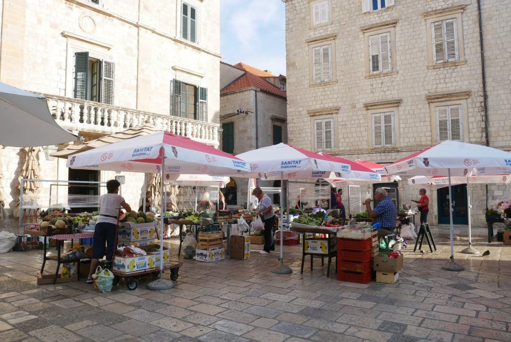 Mercado de Dubrovnik