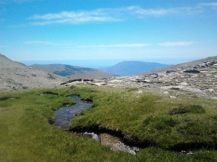 Nacimiento del río Poqueira, rutas de senderismo en La Alpujarra
