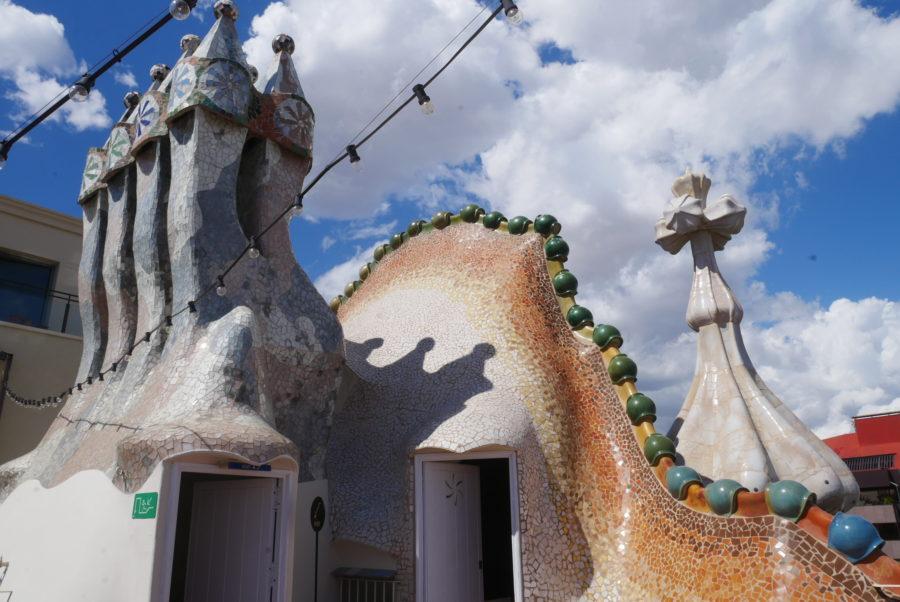 Terraza de Casa Batlló