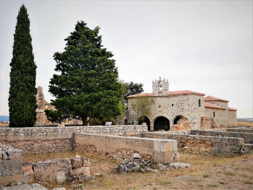 Restos de la ciudad romana de Clunia Sulpicia en Burgos